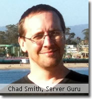 Email Chad Smith, Outback Solutions Server Guru